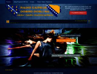 radiocarsija.com screenshot