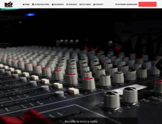 radiocentrofiuggi.it screenshot