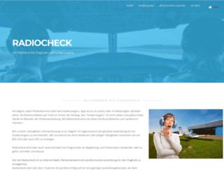 radiocheck.at screenshot