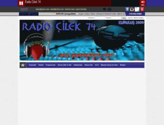 radiocilek74.com screenshot