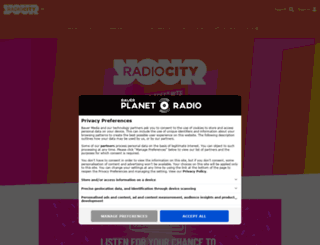 radiocity.co.uk screenshot