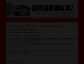 radiocoach.biz screenshot