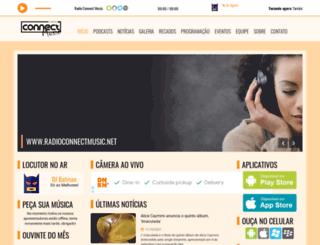 radioconnectmusic.net screenshot