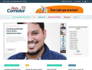 radiocorredor.com.br screenshot