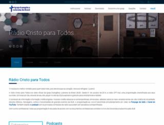 radiocristoparatodos.com.br screenshot