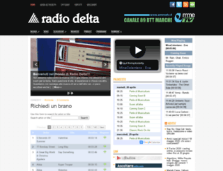radiodelta83.etvmacerata.it screenshot