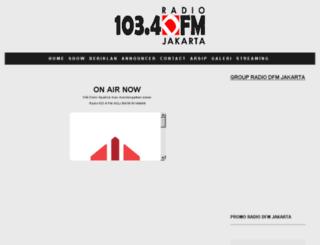 radiodfm.squarespace.com screenshot