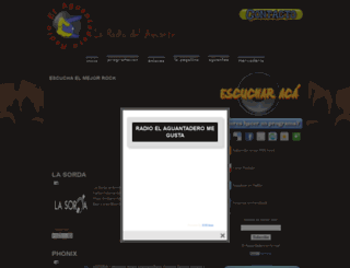 radioelaguantadero.blogspot.com screenshot
