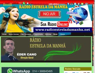 radioestreladamanha.net screenshot