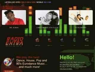 radioextra.net screenshot