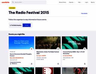 radiofestival2015.eventbrite.co.uk screenshot