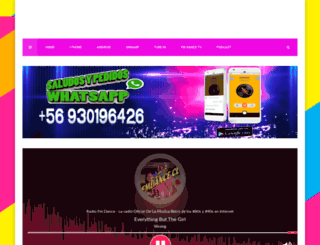 radiofmdance.net screenshot