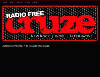 radiofreecruze.com screenshot