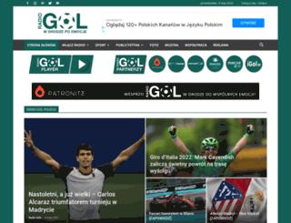 radiogol.pl screenshot
