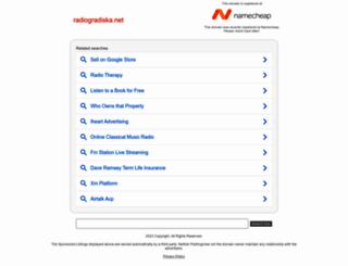 radiogradiska.net screenshot