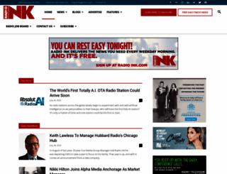radioink.com screenshot