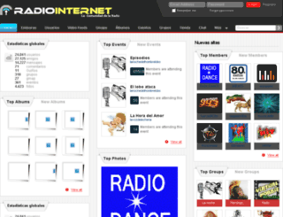 radiointernet.es screenshot