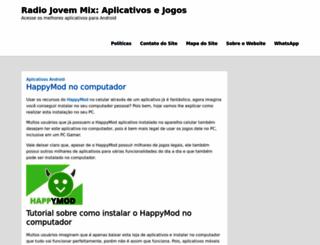 radiojovemix.com.br screenshot