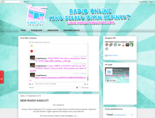 radiokancut.blogspot.com screenshot