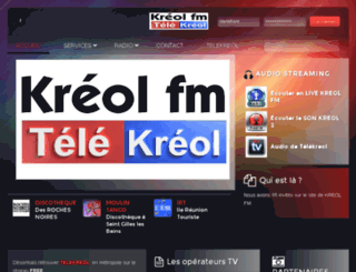 radiokreol.com screenshot