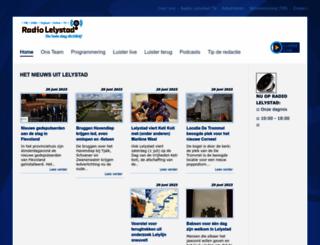 radiolelystad.nl screenshot