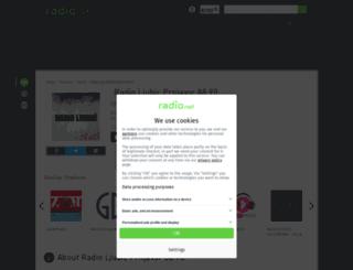 radioljubic.rad.io screenshot