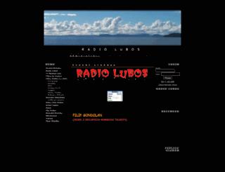 radiolubos.7x.cz screenshot
