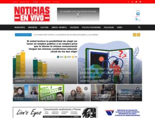 radiomaspilar.com.ar screenshot