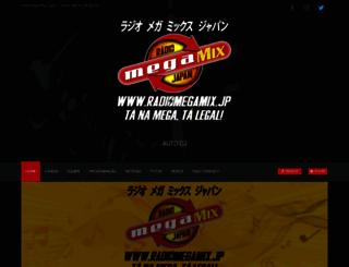 radiomegamix.jp screenshot