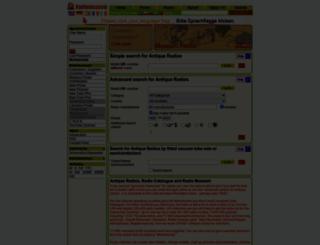 radiomuseum.org screenshot