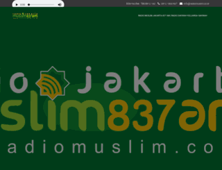 radiomuslim.co.id screenshot