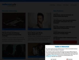 radionews.de screenshot