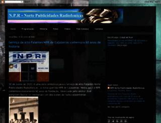 radionpr.blogspot.com.br screenshot