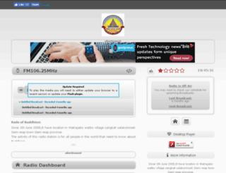radioofbuddhism.caster.fm screenshot