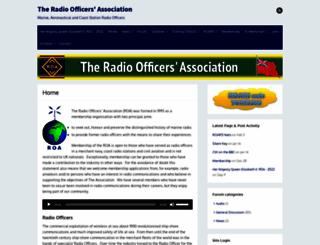 radioofficers.com screenshot