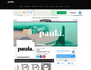 radiopaula.cl screenshot