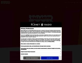 radioplayer.hallamfm.co.uk screenshot