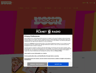 radioplayer.radiocity.co.uk screenshot