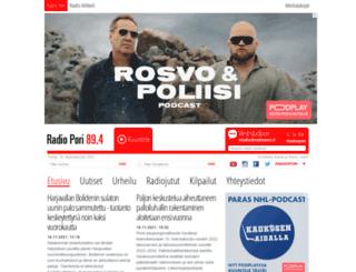 radiopori.fi screenshot