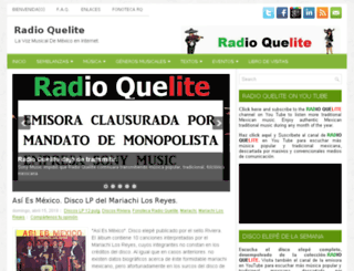 radioquelite.com screenshot