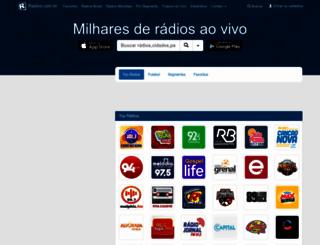 radios.com.br screenshot