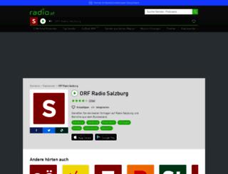 radiosalzburg.radio.at screenshot