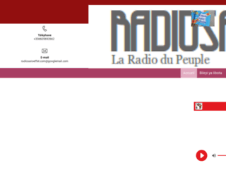 radiosanseffet.com screenshot