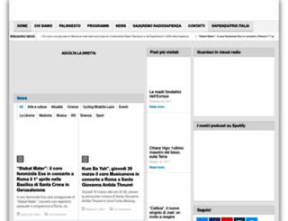 radiosapienza.net screenshot