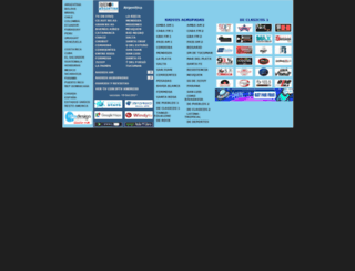 radiosargentina.com.ar screenshot