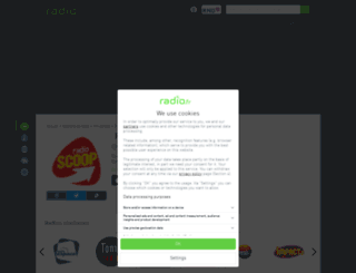 radioscoop.radio.fr screenshot