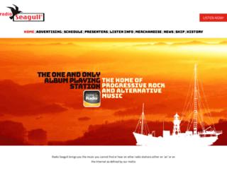 radioseagull.com screenshot