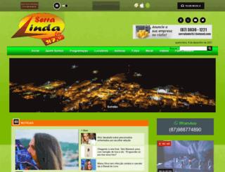 radioserralinda.com screenshot