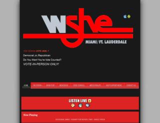 radioshe.com screenshot