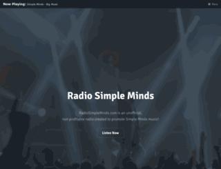 radiosimpleminds.com screenshot